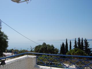 Barbati sea view with breathtaking views of sea - Barbati vacation rentals