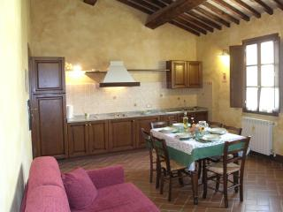 Tuscan holiday hotel apartment rental with sauna and swimming pool - San Dalmazio vacation rentals