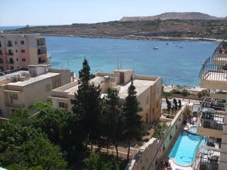 Sea view apartment - Qawra vacation rentals