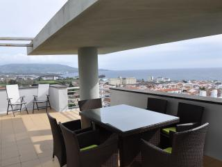 Spacious 4 bedroom Ponta Delgada Penthouse with Internet Access - Ponta Delgada vacation rentals