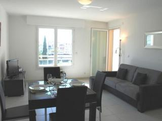 Charming 1 Bedroom Bristol Park Apartment with a Terrace - Cannes vacation rentals