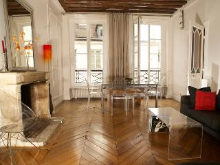 Authentic Saint Germain 2 bedroom apart., 5 sleeps - Paris vacation rentals