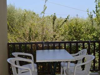 Cosy apt with covered terrace - Kalyves vacation rentals