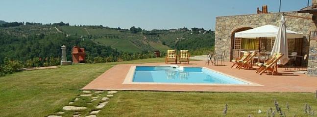 Villa Eracle - Image 1 - Gaiole in Chianti - rentals