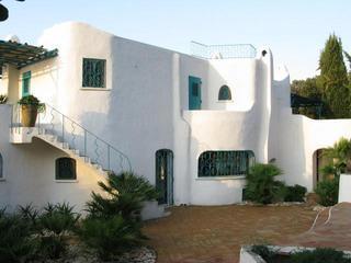 Entrance perspective to the house - The Villa - San Felice Circeo - rentals