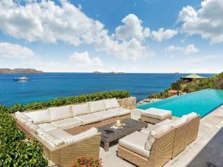 Cliffside villa Ella boasts extraordinary views & sophisticated outdoor space - Saint Jean vacation rentals