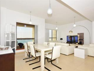 full sea view 3 bed plus maid apartment in JBR - Emirate of Dubai vacation rentals