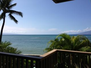 OCEANFRONT-STEPS to water- hear waves crash! 1 BR - Napili-Honokowai vacation rentals