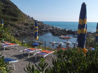 Mare blu sea vew villa 4/6 pax dog  private garden - San Nicola Arcella vacation rentals