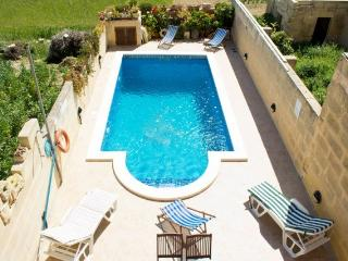Holiday Home with Private Large Pool in Gozo - San Lawrenz vacation rentals
