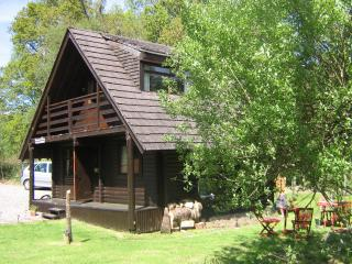 Lovely Cabin in Strathyre with Tennis Court, sleeps 5 - Strathyre vacation rentals