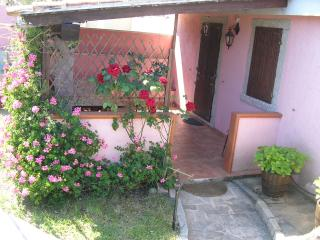 Romantic 1 bedroom Aglientu House with Deck - Aglientu vacation rentals