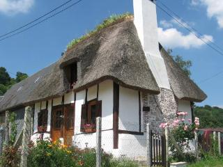 Forget-me-not Chaumiere nrHonfleur - 2 bedroom thatched cottage, Pet friendly - Marais-Vernier vacation rentals