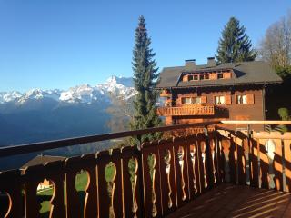 2 bedroom apartment with panoramic views - Villars-sur-Ollon vacation rentals