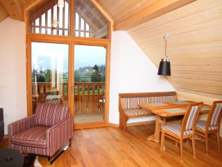 Attic, marvelous views towards lake, huge balcony - Bohinjsko Jezero vacation rentals