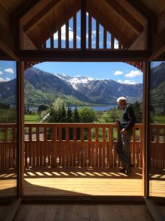 Attic, marvelous views towards lake, huge balcony - Bohinjsko Jezero vacation rentals