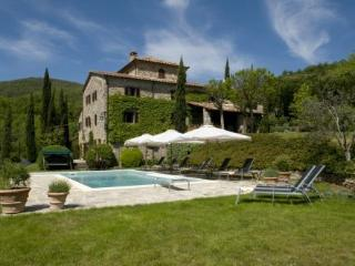 Beautiful four bedroom Tuscan villa with private pool and garden - Cortona vacation rentals