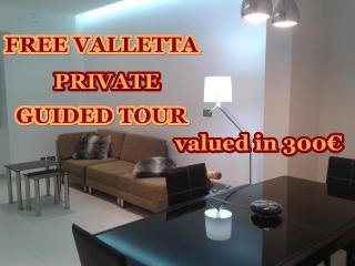 75 m2, modern 1 bedroom apartment Malta - Msida vacation rentals