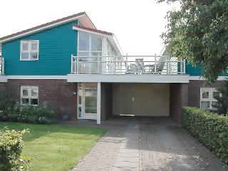 Water holiday house at canal, living first floor - Friesland vacation rentals