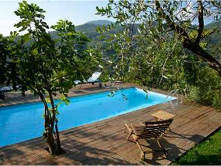 Lovely Villa with Mountain Views and Internet Access in Castiglione Chiavarese - Castiglione Chiavarese vacation rentals