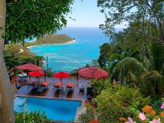 Chateau La Tete Rouge: Pool! Hot Tub! Expansive Ocean Views! Breezes! - Rendezvous Bay vacation rentals
