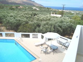 luxury big apartment , 2 bedrooms, sea view,  pool - Kissamos vacation rentals
