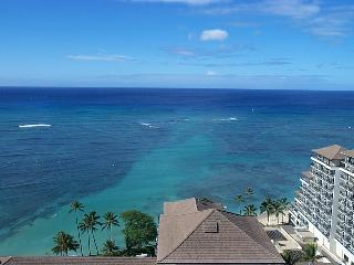 Waikiki Beach, Hawaii: One Bedroom, Two Bath Condo - Honolulu vacation rentals