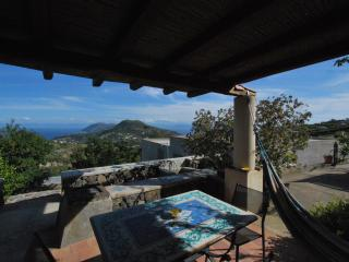 Sea view Lipari cottage wifi - Lipari vacation rentals