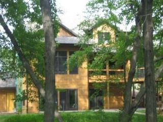 Luxury Lakefront Home - Wooded Lot on Spencer Lake - Fremont vacation rentals