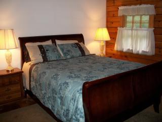 Cozy thee bedroom, two bath log cabin on 6 acres - Jamaica vacation rentals