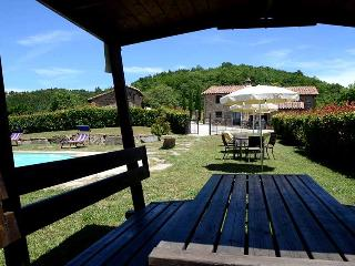 Secluded villa with private pool and fenced pool area near Perugia - Perugia vacation rentals