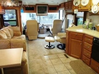 2005 Damon Intruder Luxury Class A Motor Coach in beautiful Adirondack Mountains park - Johnstown vacation rentals