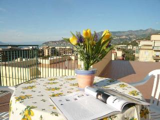Apartment Sun in Sorrento Center beautiful terrace overlooking the sea - Sorrento vacation rentals