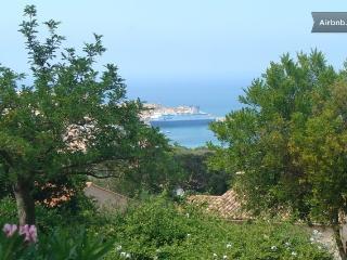 Très joli T2 avec vue mer sur les îles rousses . - Ile Rousse vacation rentals