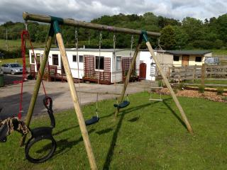 Mold, North Wales, 4/5 berth caravan in farm yard - Nercwys vacation rentals