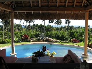 Villa Bali superbe vue sur mer et palmeraie à 180° - Cabrera vacation rentals
