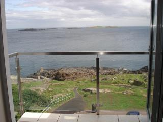Carrig-na-rone Modern luxury sea facing apartment - Portrush vacation rentals