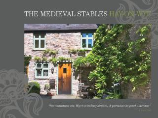 Hideaways In Hay: The Sweetest of Holiday Cottages - Mid Wales vacation rentals