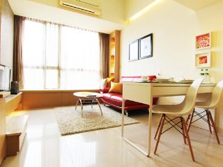 Luxury Serviced Apts near MRT Taipei 101 with pool - Taiwan vacation rentals