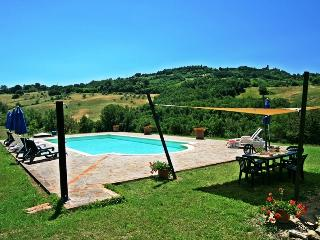 Typically Tuscan stone farmouse with 6 bedrooms, brilliant views and private swimming pool - Radicondoli vacation rentals