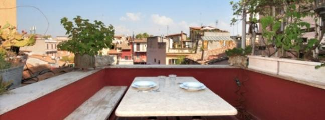 Terrace Attic Trastevere - Rome vacation rentals