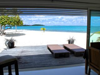 Place2B luxury apartment directly ON THE BEACH - Saint Martin-Sint Maarten vacation rentals