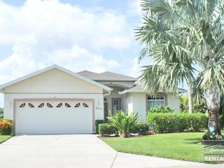 Lakefront home with heated pool only minutes from the beach - Ave Maria vacation rentals