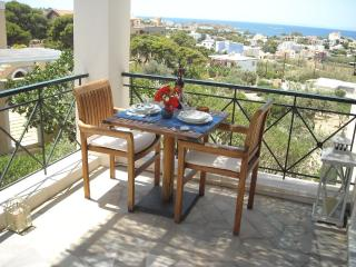 Archipelagos apartment - 33 sq.m - sea view - Poseidonia vacation rentals