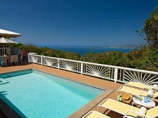 Hummingbird: Amazing Views! Breezy Hillside Villa! - Gift Hill vacation rentals
