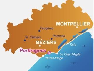 Sud de la France - Portiragnes-plage - Villa 6p - Portiragnes vacation rentals