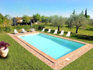 Tuscan Villa Nr. San Gimignano  large gardens - Colle di Val d'Elsa vacation rentals