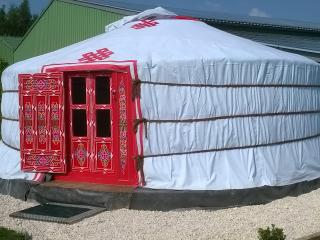 Nice Yurt with Internet Access and Central Heating - Lens vacation rentals