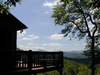 Bridges Cottage a quaint mountain cabin with fantastic views of Grandfather - West Jefferson vacation rentals