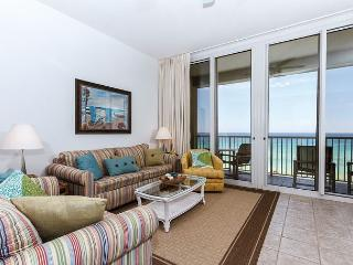 WE 614: Top floor & DIRECTLY on the Gulf-WiFi, balcony, pool, beach service - Fort Walton Beach vacation rentals